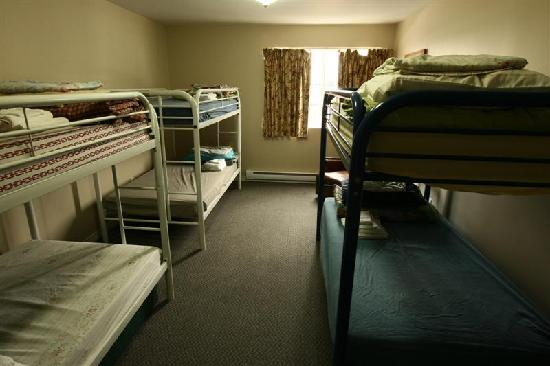 North Coast Trail Backpacker's Hostel: This is one of our dorm rooms that is available as a private room