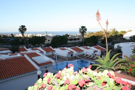 Island Village Apartments : view on the Ocean and pool