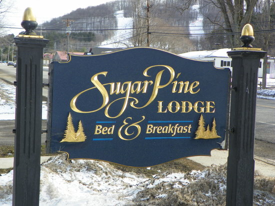 Sugar Pine Lodge: This is where you should stay!!