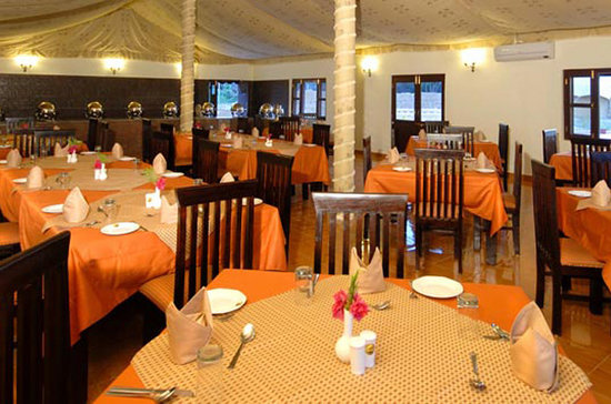 Nakhtarana, Inde : dining hall