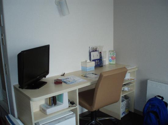 Super Hotel Hida-Takayama: Desk