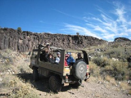 Santa Fe Mountain Adventures: NM 4WD Adventures in a Pinzgauer