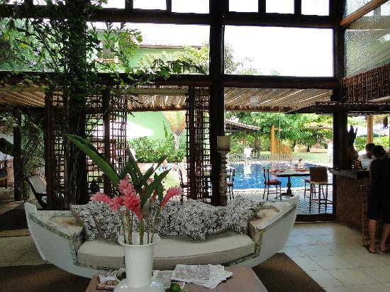 Refugio da Vila: Lobby do hotel