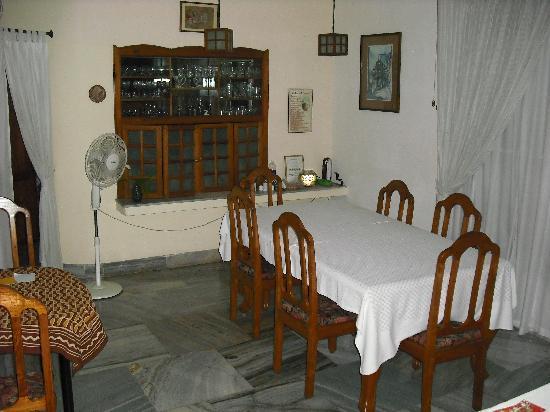 Noah's Ark Homestay : Dining room