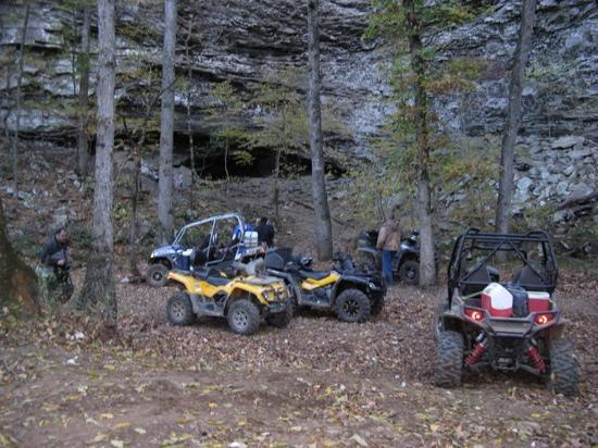 The wall is a great place to ride your atv to and enjoy for Atv parks in texas with cabins
