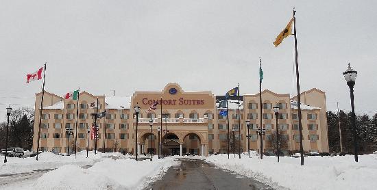 Comfort Suites University Area: Front