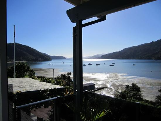Tirimoana House: view from Queen Charlotte suite