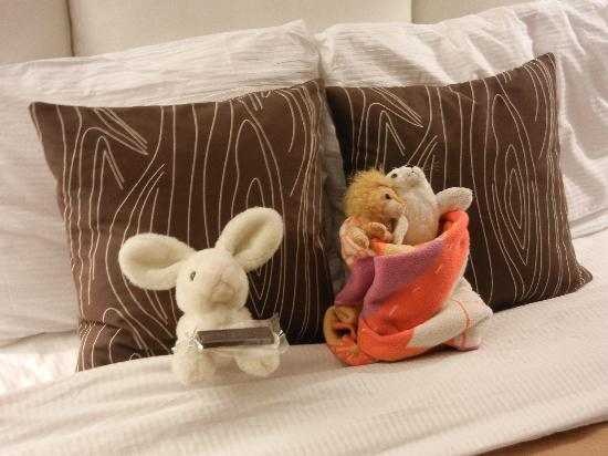 The Oxford Hotel: Stuffed animal turndown