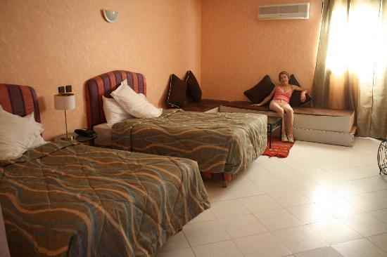 Palm's Hotel Club : la chambre