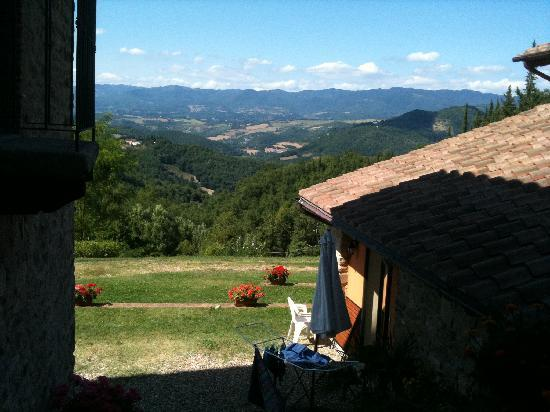La Fonte : view across the valley