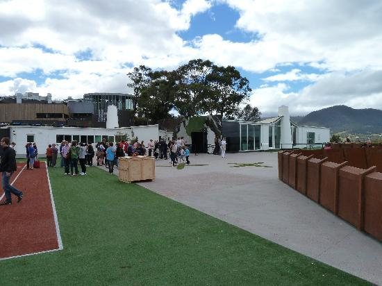 Museum of Old and New Art: MONA entrance