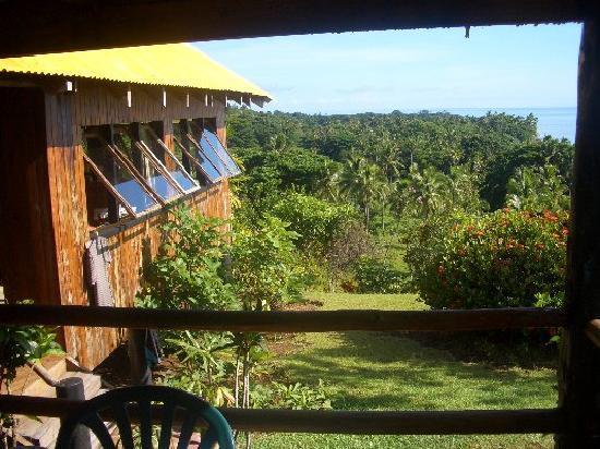 Takalana Bay Resort: View from my room...paradise !