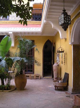 Riad Jaglia: il patio!