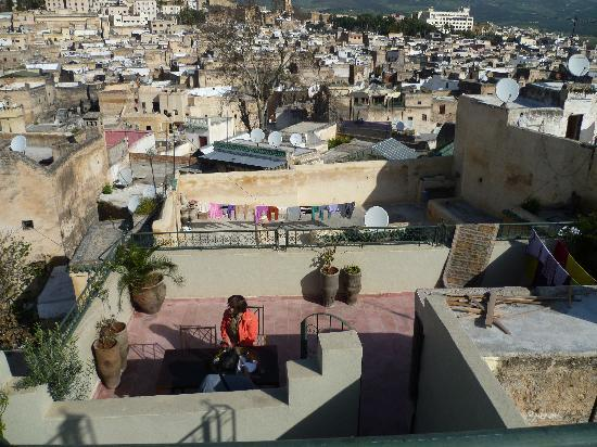 Dar Sienna: Terrace + view of Fez