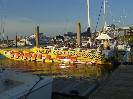 Thriller Boat Tour Charleston