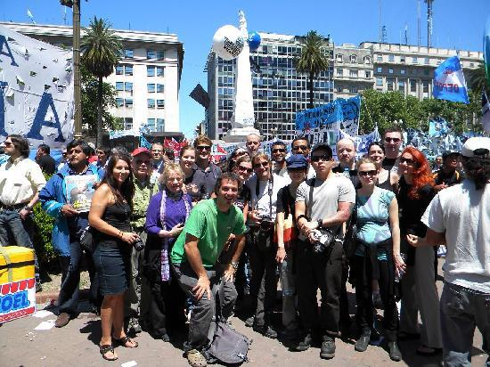 Buenos Aires Free Tour: Groups