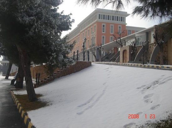 Homs Grand Hotel: Bloudan Grand Hotel at Snow