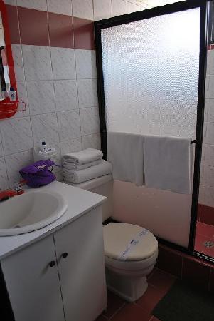 Hosteria El Troje: el baño limpio