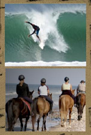 Soma Surf Resort: Surfing at Popoyo, Astillero, Santana, or Playgrounds and Horseback Riding too.