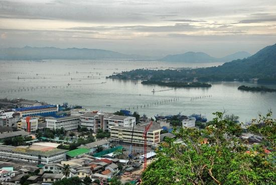 A view of Songkhla Lake.