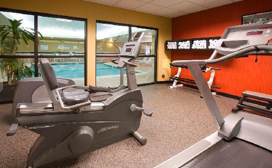 Courtyard Portland Southeast/Clackamas: Fitness Room