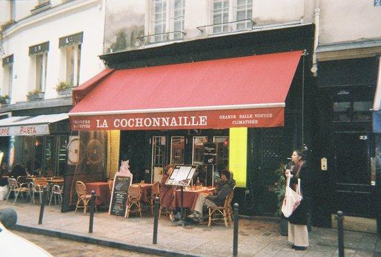 La Cochonnaille: La Cochonnalle on la rue de la Harpe
