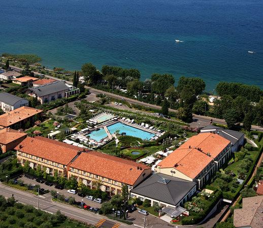 Hotel Caesius Thermae & Spa Resort : foto aerea