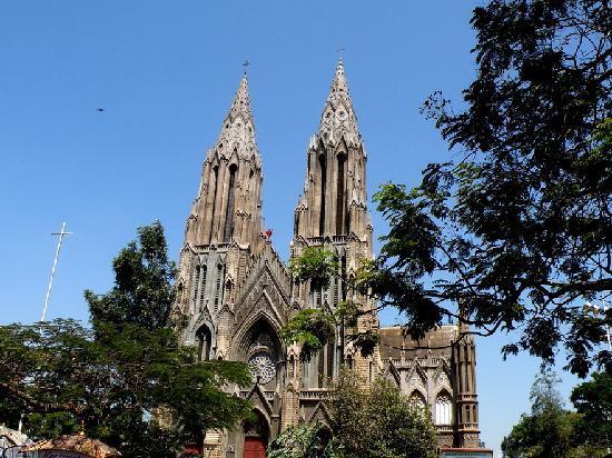 Karnataka State Tourism Development - Day Tours : St. Philomena's Church