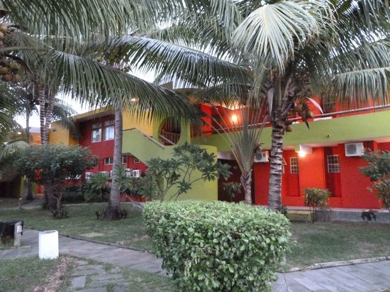 Tamarin: Chambres de l'hôtel côté jardin