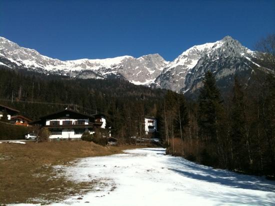 View behind Hotel Waldrand
