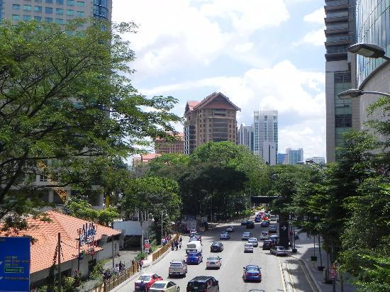 The Royale Chulan Kuala Lumpur: Royal chulan from the Pavillon