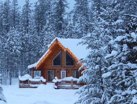 The Great Bear Inn: Cabin rental - winter