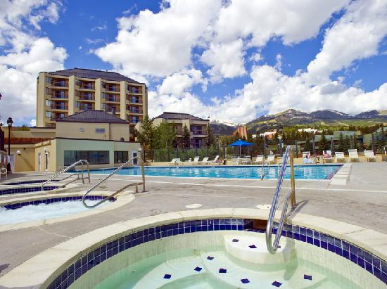 Water House on Main Street Breckenridge & Main Street Station pool and hot tubs