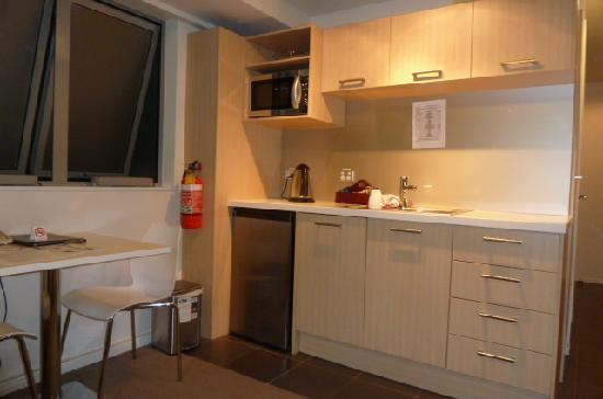 kitchenette in studio apartment - Picture of Bianco off Queen ...