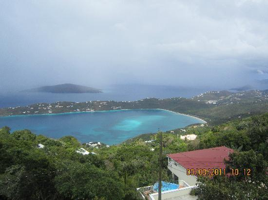 Mountain Top: Magens Bay view