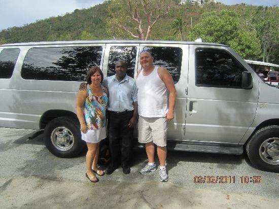 Mountain Top: Antonio our cabbie!