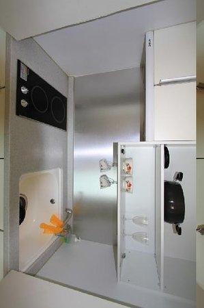 Incheon Airport Guesthouse: Kitchen corner