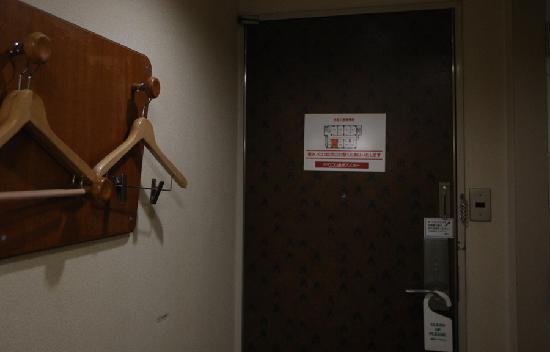 Hotel Econo Kanawaza Asper: 客室ドア