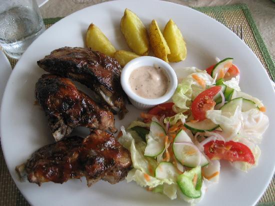 Isla Hayahay: Amazing food
