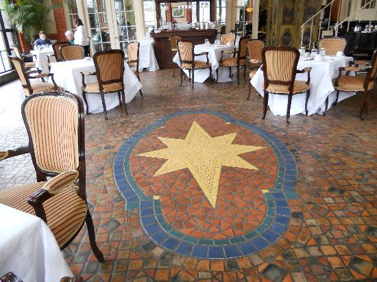 Moravian floor tiles at 1741 on terrace bild von for 1741 on the terrace