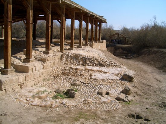 The Baptism Site Of Jesus Christ : Reste der alten Kirche (5. Jh.)