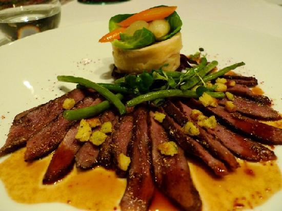 Lafite: Duck Breast - it was medium well done. Tender and juicy