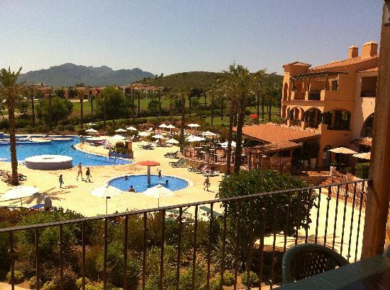 Pierre & Vacances Village Club Bonavista de Bonmont : Le vue de la terrasse