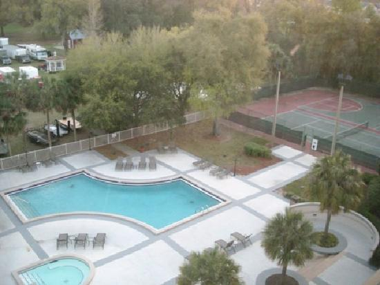 Hilton Ocala: View from our room on the 6th floor