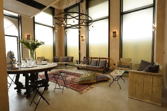 Hammam Baths : seating area