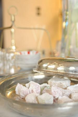 Hammam Baths: Sweets!