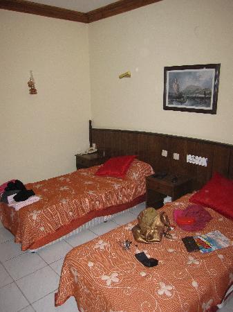 Fatih Hotel Kleopatra: beds
