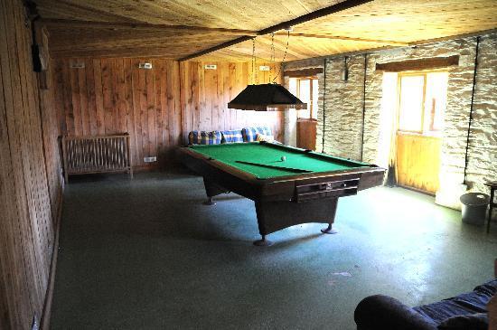 Adventure Cottages: Games Room