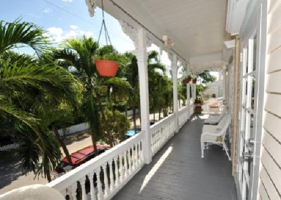 The Palms Hotel- Key West: Veranda