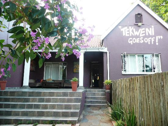 Tekweni Backpackers Hostel: ingresso dell'ostello